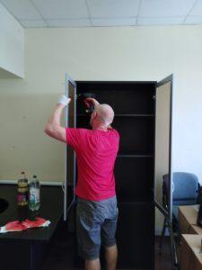 сборка мебели грузчики лобня